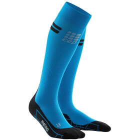 cep Run Merino Socks Men electric blue/black
